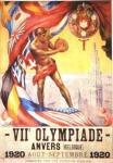 olympic games  poster 1920 Antwerp