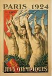 olympic games  poster 1924 Paris