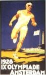 olympic games  poster 1928 Amsterdam