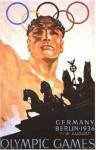 olympic games  poster 1936 Berlin
