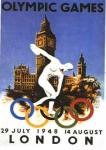 olympic games  poster 1948 London