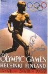 olympic games  poster 1952 Helsinki