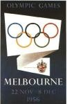 olympic games  poster 1956 Melbourne