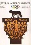 olympic games  poster 1960 Rome