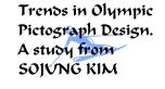 olympic pictograph design