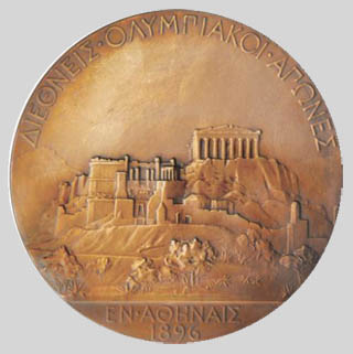 Olympic games winner medal 1896