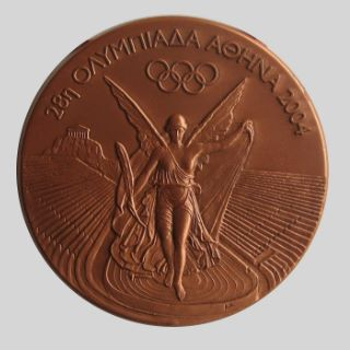 Olympic winner medal 2004 Athens