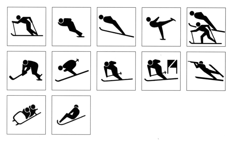 pictogram olympic games 1972 sapporo